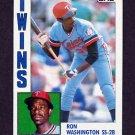 1984 Topps Baseball #623 Ron Washington - Minnesota Twins