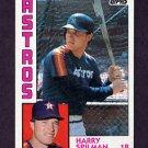 1984 Topps Baseball #612 Harry Spilman - Houston Astros