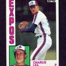 1984 Topps Baseball #421 Charlie Lea - Montreal Expos