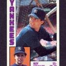 1984 Topps Baseball #305 Roy Smalley - New York Yankees