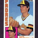 1984 Topps Baseball #290 Dave Dravecky - San Diego Padres