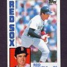 1984 Topps Baseball #238 Reid Nichols - Boston Red Sox