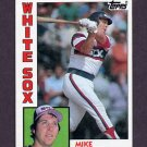 1984 Topps Baseball #072 Mike Squires - Chicago White Sox