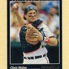 1993 Pinnacle Baseball #186 Chris Hoiles - Baltimore Orioles