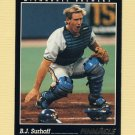 1993 Pinnacle Baseball #087 B.J. Surhoff - Milwaukee Brewers