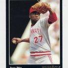1993 Pinnacle Baseball #077 Jose Rijo - Cincinnati Reds