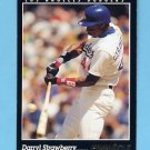 1993 Pinnacle Baseball #064 Darryl Strawberry - Los Angeles Dodgers