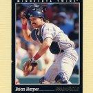 1993 Pinnacle Baseball #054 Brian Harper - Minnesota Twins