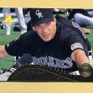 1995 Pinnacle Baseball #357 Joe Girardi - Colorado Rockies