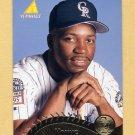 1995 Pinnacle Baseball #314 Eric Young - Colorado Rockies