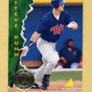 1995 Pinnacle Baseball #157 Steve Dunn - Minnesota Twins