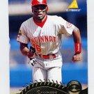 1995 Pinnacle Baseball #076 Reggie Sanders - Cincinnati Reds