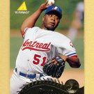 1995 Pinnacle Baseball #059 Mel Rojas - Montreal Expos