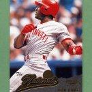 1996 Pinnacle Baseball #152 Ron Gant NAT - Cincinnati Reds