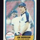 1981 Fleer Baseball #357 Jim Morrison - Chicago White Sox