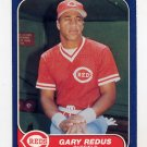 1986 Fleer Baseball #189 Gary Redus - Cincinnati Reds
