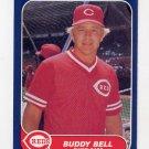 1986 Fleer Baseball #172 Buddy Bell - Cincinnati Reds