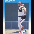 1987 Fleer Baseball #491 Joe Cowley - Chicago White Sox