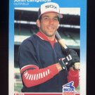 1987 Fleer Baseball #489 John Cangelosi - Chicago White Sox