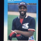 1987 Fleer Baseball #487 Daryl Boston - Chicago White Sox