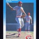 1987 Fleer Baseball #217 Chris Welsh - Cincinnati Reds