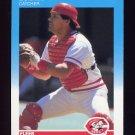1987 Fleer Baseball #200 Bo Diaz - Cincinnati Reds