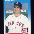 1987 Fleer Baseball #037 Bruce Hurst - Boston Red Sox
