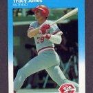 1987 Fleer Update Baseball #055 Tracy Jones - Cincinnati Reds