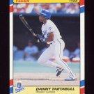 1988 Fleer Superstars Baseball #40 Danny Tartabull - Kansas City Royals