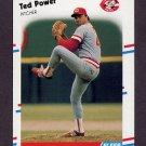 1988 Fleer Baseball #245 Ted Power - Cincinnati Reds