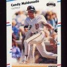 1988 Fleer Baseball #089 Candy Maldonado - San Francisco Giants