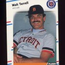 1988 Fleer Baseball #072 Walt Terrell - Detroit Tigers