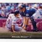 1995 Upper Deck Baseball #301 Dave Nilsson - Milwaukee Brewers