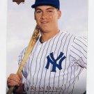 1995 Upper Deck Baseball #204 Russ Davis - New York Yankees
