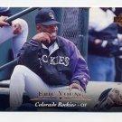 1995 Upper Deck Baseball #177 Eric Young - Colorado Rockies
