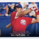 1995 Upper Deck Minors Baseball #087 Pat Watkins - Cincinnati Reds