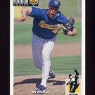 1994 Collector's Choice Baseball #289 Bill Wegman - Milwaukee Brewers