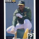 1994 Collector's Choice Baseball #258 Ruben Sierra - Oakland A's