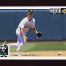 1994 Collector's Choice Baseball #225 Craig Paquette - Oakland A's