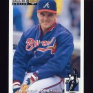 1994 Collector's Choice Baseball #199 Greg McMichael - Atlanta Braves