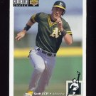 1994 Collector's Choice Baseball #180 Scott Lydy - Oakland A's