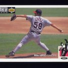 1994 Collector's Choice Baseball #177 Albie Lopez - Cleveland Indians