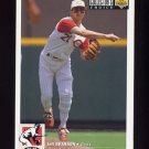 1994 Collector's Choice Baseball #064 Jeff Branson - Cincinnati Reds