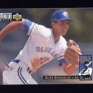 1994 Collector's Choice Baseball #008 Alex Gonzalez - Toronto Blue Jays