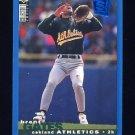 1995 Collector's Choice SE Baseball #046 Brent Gates - Oakland A's