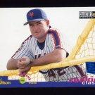 1995 Collector's Choice SE Baseball #009 Paul Wilson - New York Mets