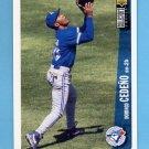 1996 Collector's Choice Baseball #348 Domingo Cedeno - Toronto Blue Jays