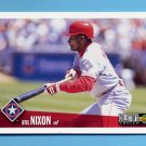 1996 Collector's Choice Baseball #343 Otis Nixon - Texas Rangers