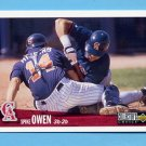 1996 Collector's Choice Baseball #074 Spike Owen - California Angels