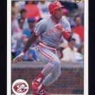 1990 Upper Deck Baseball #589 Herm Winningham - Cincinnati Reds